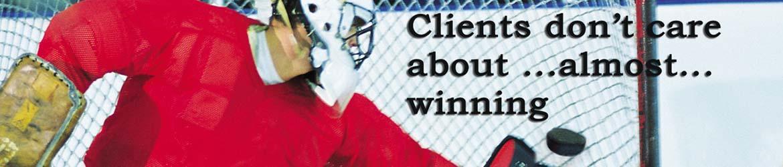 Hockey-Titel-Banner