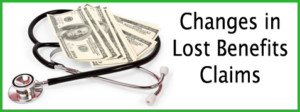 Changes in Lost Benefits Claims
